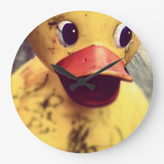 rubber duck large clock