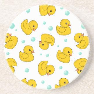 Rubber Duck Pattern Coaster