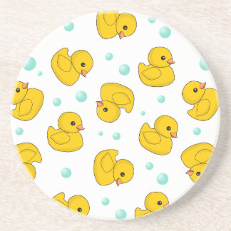 Rubber Duck Pattern Coasters