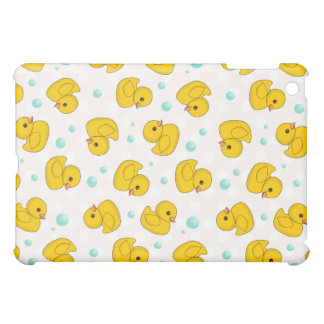 Rubber Duck Pattern iPad Mini Covers