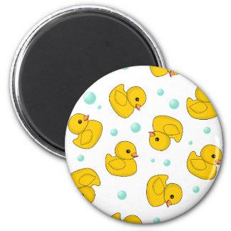 Rubber Duck Pattern Magnet