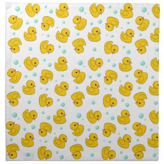 Rubber Duck Pattern Napkin