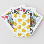 Rubber Duck Pattern Playing Cards