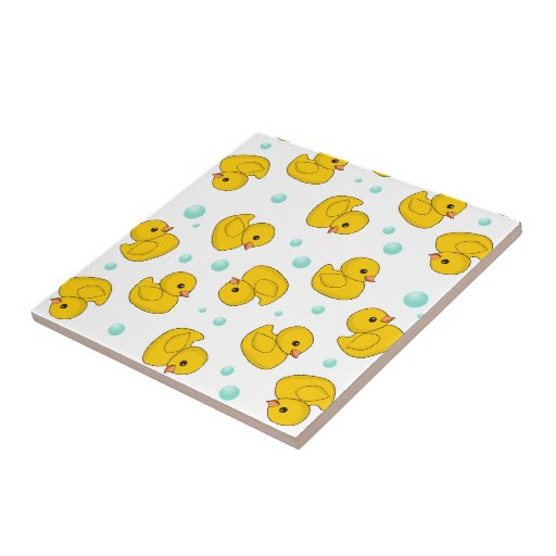 Rubber Duck Pattern Tiles