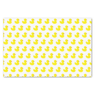 Rubber Duck Pattern Tissue Paper