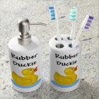 Rubber Duckie Bathroom Set