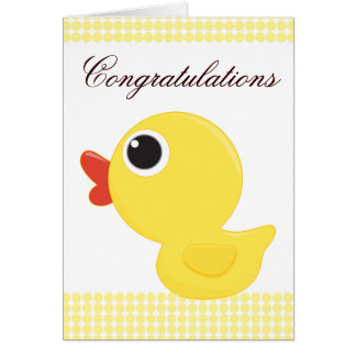 Rubber Duckie Card