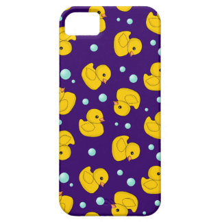 Rubber Duckie Pattern Barely There iPhone 5 Case