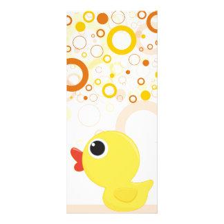 Rubber Duckie Rack Card