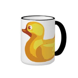Rubber Duckie Ringer Mug