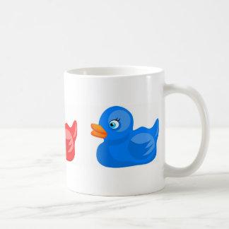 Rubber Ducks Basic White Mug