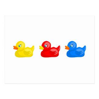 Rubber Ducks Postcard