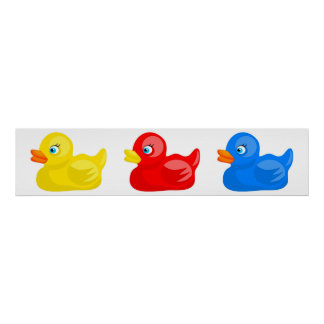 Rubber Ducks Posters