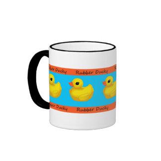 Rubber Ducky Banded Coffee Mug