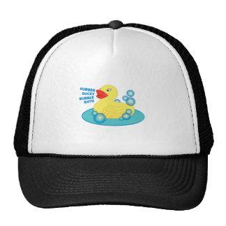 Rubber Ducky Bubble Bath Trucker Hat
