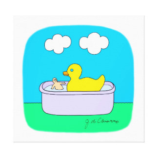Rubber Ducky Stretched Canvas Prints