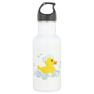 Rubber Ducky in Bubbles 532 Ml Water Bottle