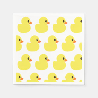 """Rubber Ducky"" Paper Napkins"