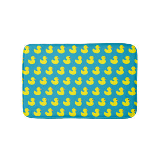Rubber Ducky Pattern Bath Mat