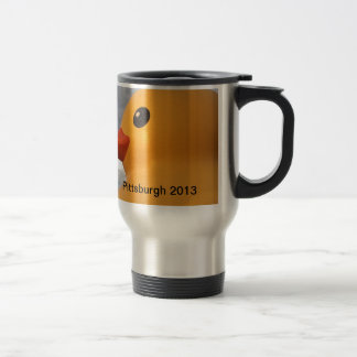 Rubber Ducky Pittsburgh Stainless Steel Travel Mug