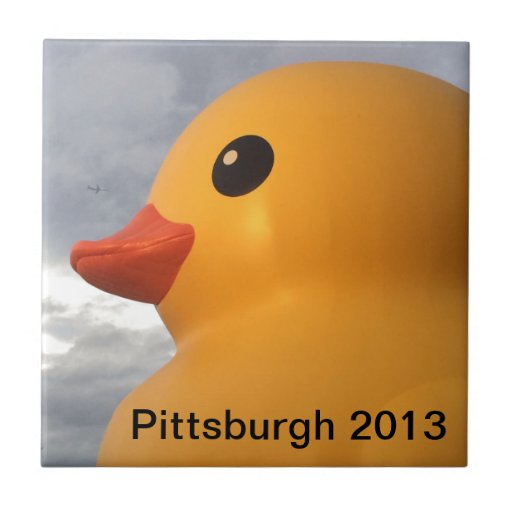 Rubber Ducky Pittsburgh Tiles