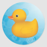 Rubber Ducky Round Sticker