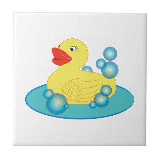 Rubber Ducky Ceramic Tiles