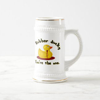 Rubber Ducky - You're The One - Bleeding Duck Beer Steins