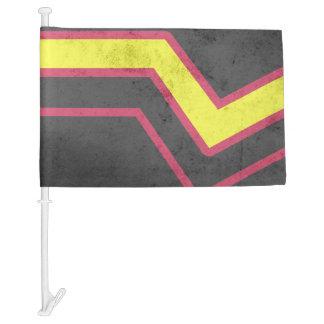 RUBBER LATEX PRIDE FLAG CAR FLAG