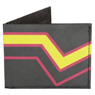 RUBBER LATEX PRIDE FLAG BILLFOLD WALLET