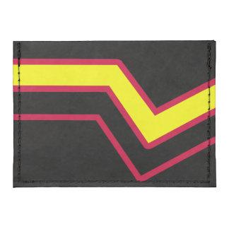 RUBBER LATEX PRIDE FLAG TYVEK® CARD CASE WALLET