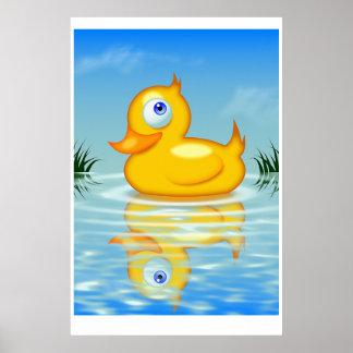 Rubber Quack Poster