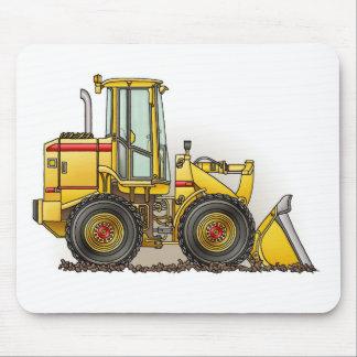 Rubber Tire Loader Construction Equipment Mouse Mat