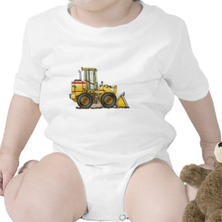 Rubber Tire Loader Construction Equipment Tshirts
