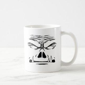 Rubbernorc Face Coffee Mug