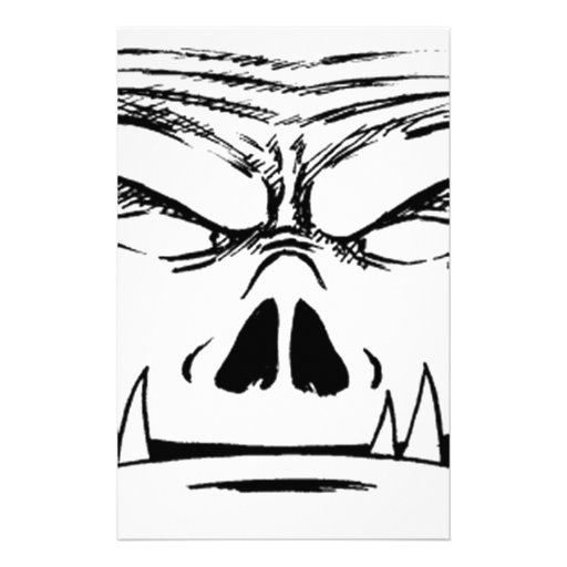 Rubbernorc Face Stationery Paper