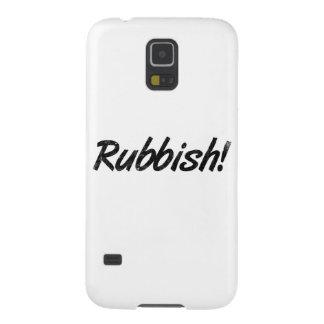 Rubbish! Galaxy S5 Covers