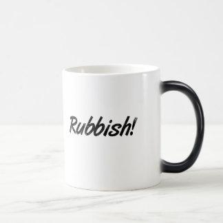 Rubbish! Morphing Mug
