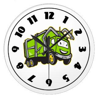 Rubbish Truck Clock