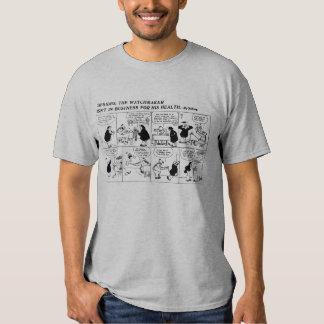 Rube Goldberg Watch Maker comic strip Tee Shirt