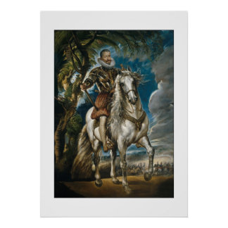 Rubens painting: The Duke of Lerma Poster