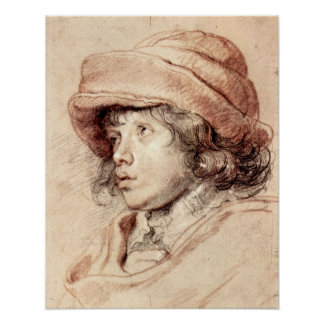 Rubens Son Nicholas by Paul Rubens Poster