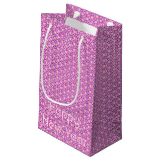 Rubies and Flowers Kaleidoscopic Gift Bag