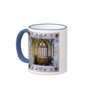 Rubies Art Deco Wedding Mugs