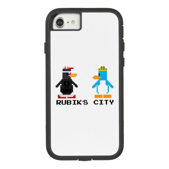 Rubik's City and MegaPlex 8-Bit iPhone 7/8 Case