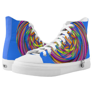 Rubins Spiral Design High Tops