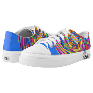 Rubins Spiral Design Low Tops