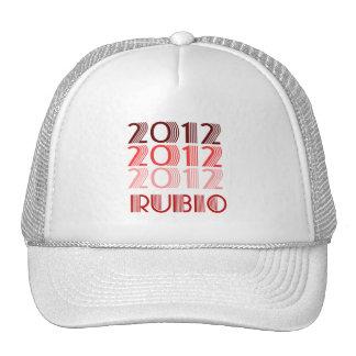 RUBIO 2012 VINTAGE TRUCKER HATS
