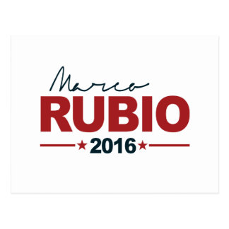 RUBIO 2016 CAMPAIGN SIGN -.png Postcard