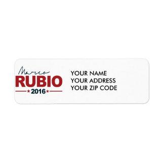 RUBIO 2016 CAMPAIGN SIGN -.png Return Address Label